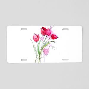 Tulip2a Aluminum License Plate