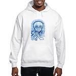 Calaca Dia Muertos Hooded Sweatshirt