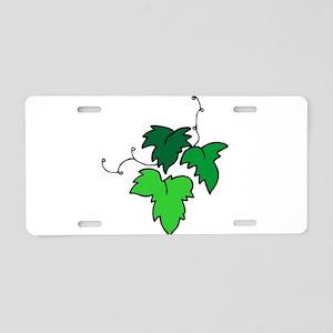 1632625 Aluminum License Plate