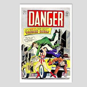 Danger #16 Postcards (Package of 8)