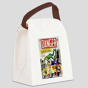 Danger #16 Canvas Lunch Bag