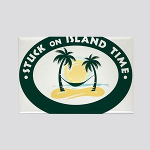 Stuck on Island Time Rectangle Magnet (100 pack)