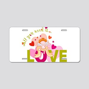 you_need_love-047 Aluminum License Plate