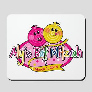 Aly's Bat Mitzvah Mousepad