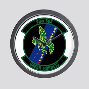 20th Patch Wall Clock