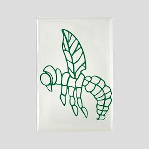 Green Hornet Rectangle Magnet