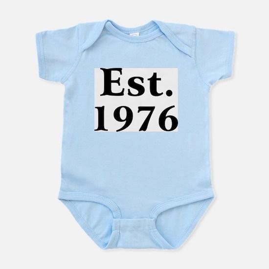Est. 1976 Infant Creeper