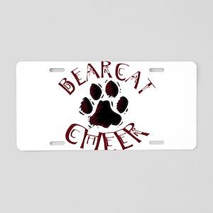 BCHEER5 Aluminum License Plate