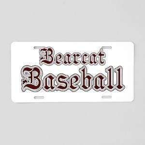 BCATBASEBALL1 Aluminum License Plate