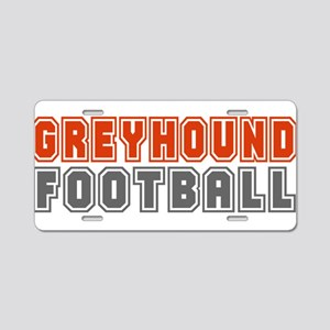 GREYHOUNDFB3 Aluminum License Plate
