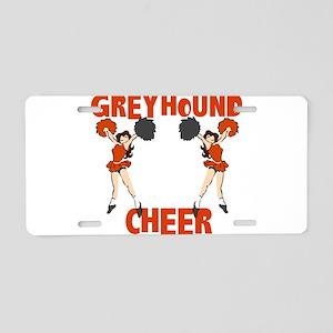GREYCHEER4 Aluminum License Plate