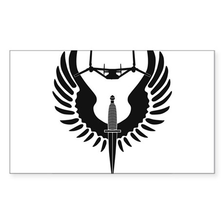 AFSOC Osprey Sticker (Rectangle)