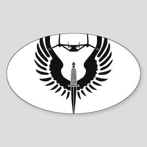 AFSOC Osprey Sticker (Oval)