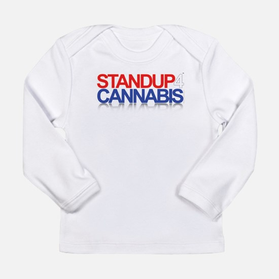 Stand Up 4 Cannabis Long Sleeve Infant T-Shirt