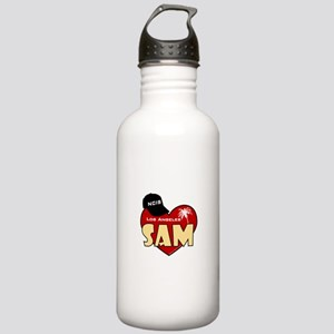 NCIS LA Sam Stainless Water Bottle 1.0L