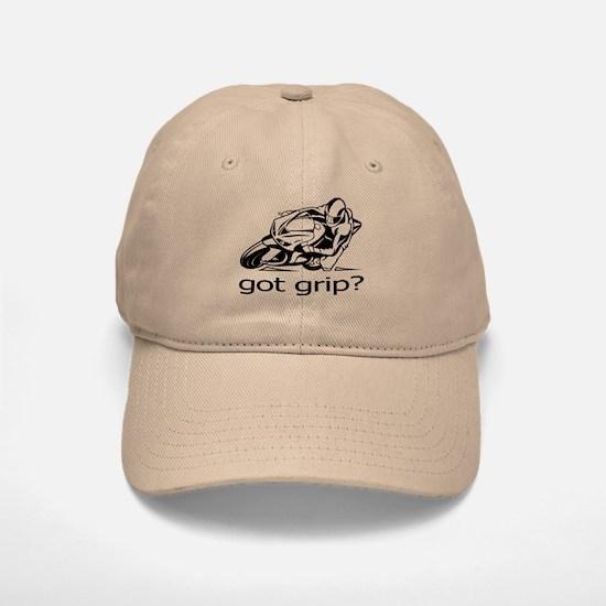 Sportbike Got Grip Baseball Baseball Cap