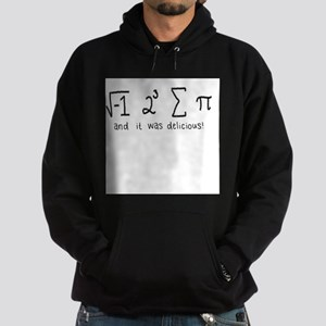 """i 8 sum pi"" (And it was delicious!) Hoodie (dark)"