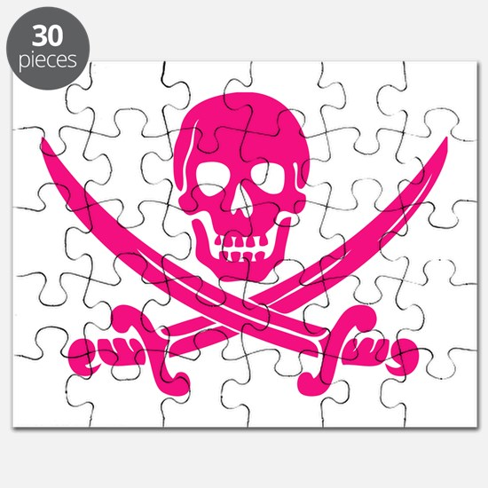 Pink Calico Jack Puzzle