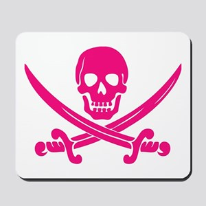 Pink Calico Jack Mousepad