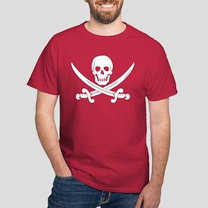 White Calico Jack Dark T-Shirt