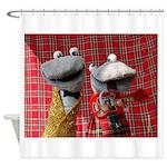 Socks Shower Curtain