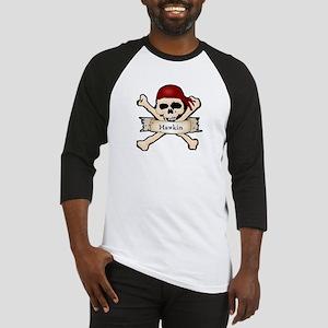 Personalized Pirate Skull Baseball Jersey