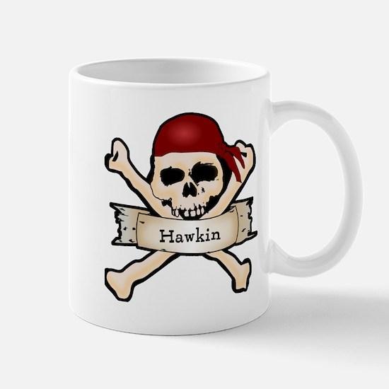 Personalized Pirate Skull Mug