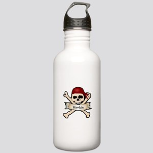 Personalized Pirate Skull Stainless Water Bottle 1
