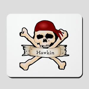 Personalized Pirate Skull Mousepad