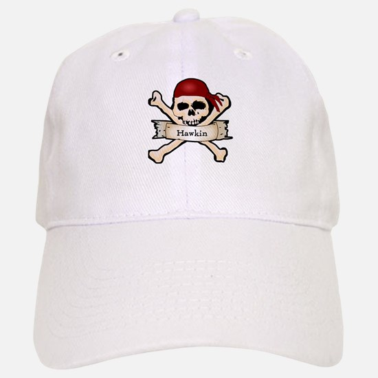 Personalized Pirate Skull Baseball Baseball Cap