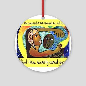 Love and Compassion Ornament (Round)