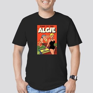 Algie #3 Men's Fitted T-Shirt (dark)