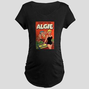 Algie #3 Maternity Dark T-Shirt