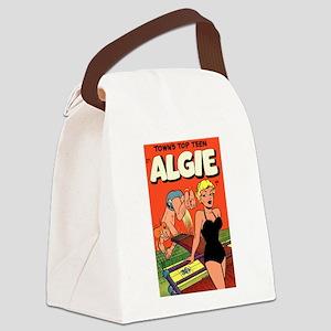 Algie #3 Canvas Lunch Bag