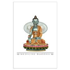 Medicine Buddha Large Poster