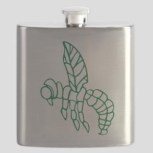 Green Hornet Flask
