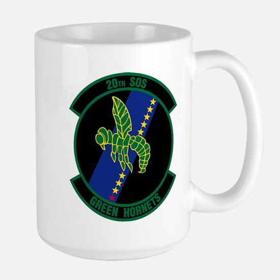 20th Patch Large Mug