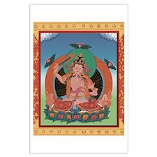 Tangka Buddha Large Poster