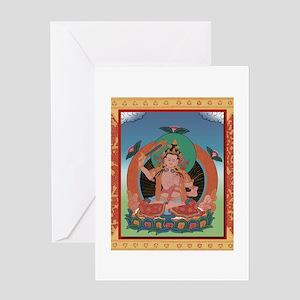 Tangka Buddha Greeting Card