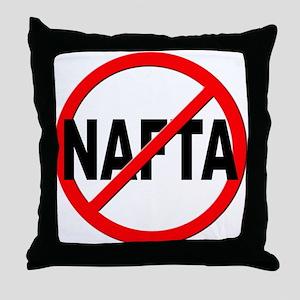 Anti / No NAFTA Throw Pillow