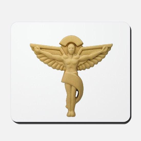 Chiropractic Emblem Mousepad