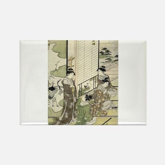 Four Women Composing Poetry - Eishi Hosoda - 1795