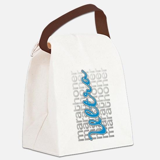 Ultra Marathoner Canvas Lunch Bag
