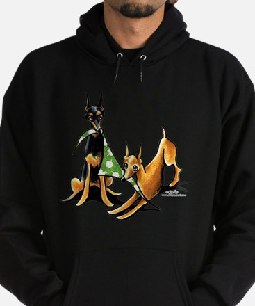 Min Pin Apples Hoodie (dark)
