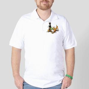 Min Pin Apples Golf Shirt