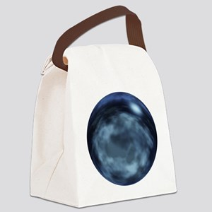 Starry Night Globe Canvas Lunch Bag