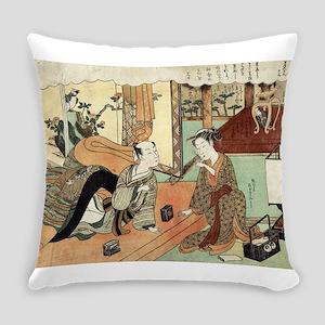 Jusan - Harunobu Suzuki - 1770 Everyday Pillow