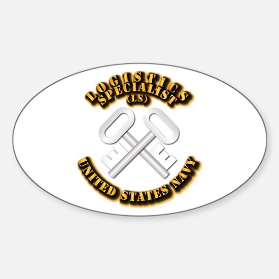 Navy - Rate - LS Sticker (Oval)