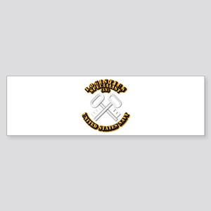Navy - Rate - LS Sticker (Bumper)