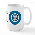 Veterans for Obama Large Mug